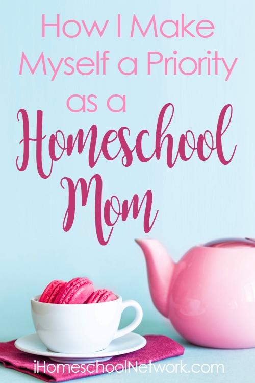 Homeschool Mom Priority