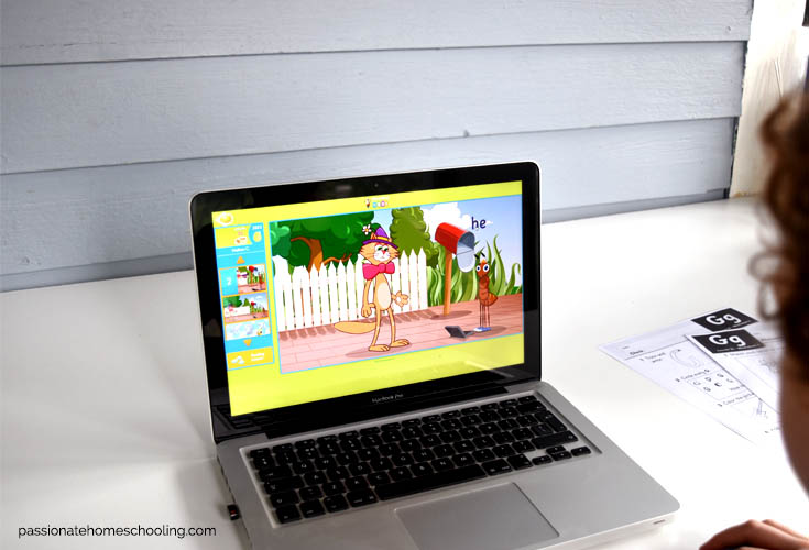 Online Reading Games Practicing Phonics