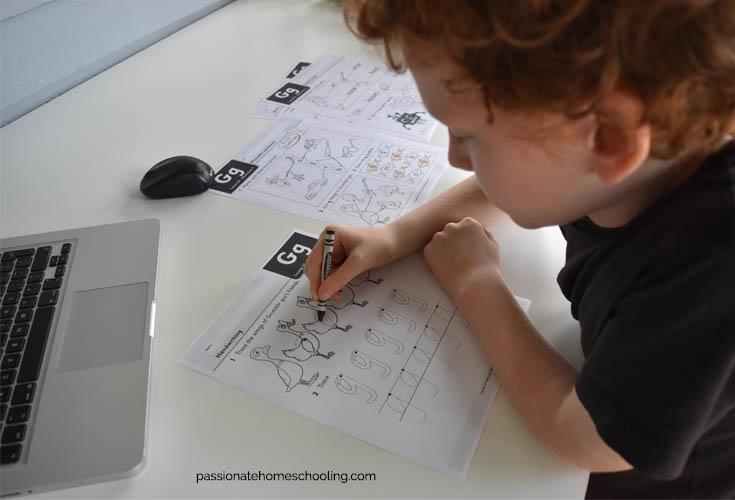 Printable Phonic Worksheets