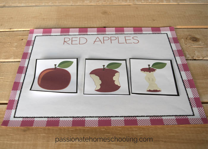 Red Apple Free Printable