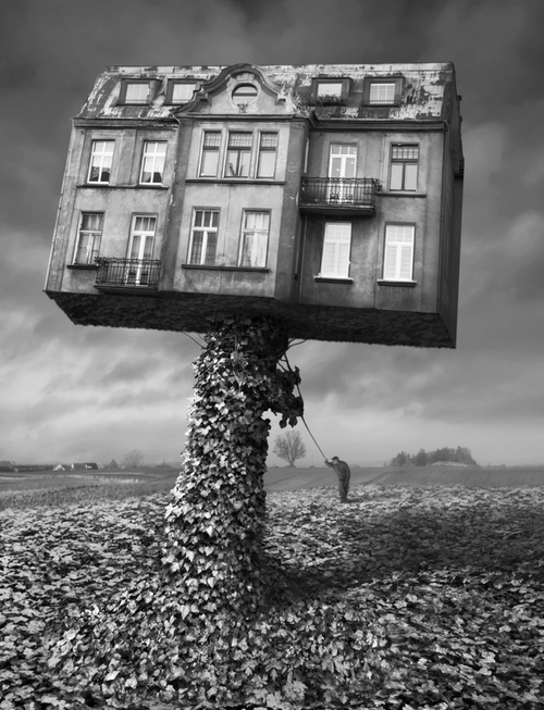 Surrealist Polish photographer