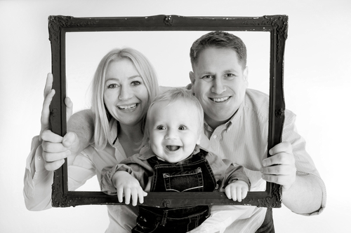 A family shoot offer for £40, including 2 prints