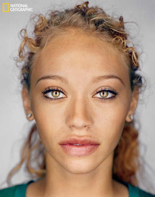 By 2050, the average American will look similar to this, according to National Geographic