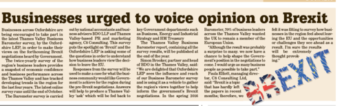 OxLEP in The Oxford Paper