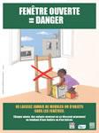 Chutes d'enfants par la fenêtre Appel à la vigilance des parents : 4 fois sur 5, un adulte est prése