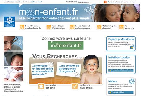 www.mon-enfant.fr lance une enquête auprès des professionnels de la petite enfance et des familles