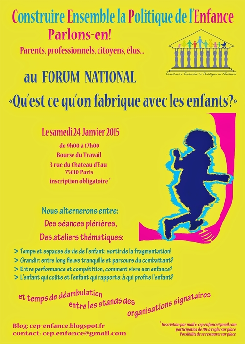 Forum national CEP-Enfance