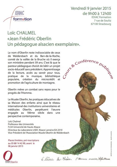 Jean Frédéric Oberlin : un pédagogue alsacien exemplaire