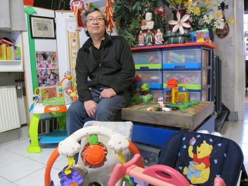 Tourcoing : deux hommes parmi les assistantes maternelles