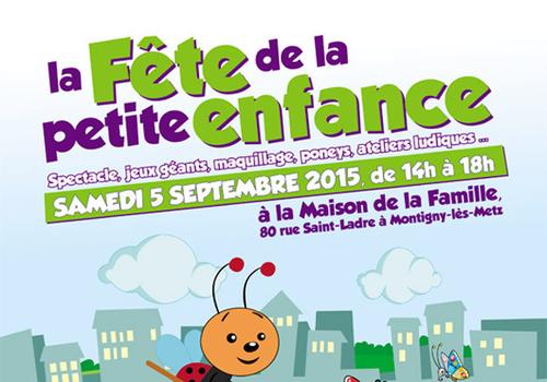 Fête de la petite enfance à Montigny-les-Metz