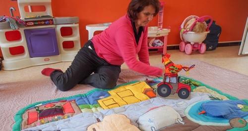 Un tapis de lecture itinérant pour les petits