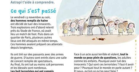 Les attentats de Paris pour les enfants (Spécial enseignants et parents)