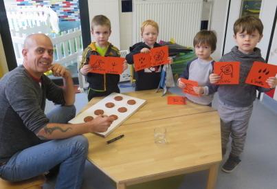 Vittel : La récup' et l'art s'invitent à la crèche Frimousse