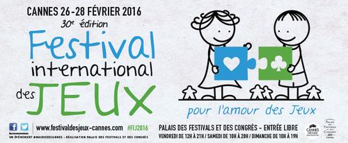 30e Festival international des jeux de Cannes 2016
