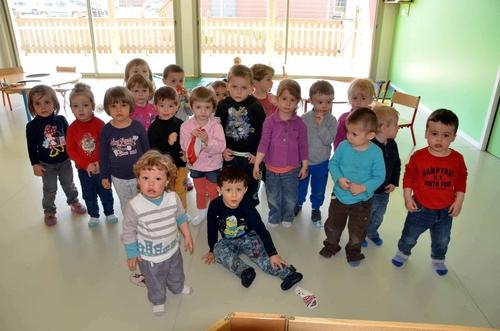 Les Moussaillons du Pôle multi-accueil petite enfance étaient cette semaine sur les dents.
