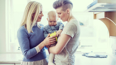 Familles homoparentales: le bien-être des enfants est le même