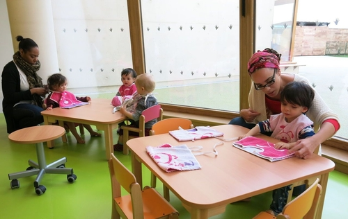 Paris inaugure la 1 000e place de crèche de l'ère Hidalgo