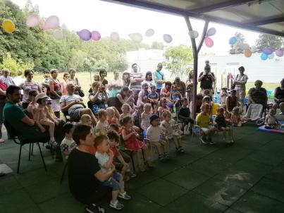 Une centaine de personnes à la1ère fête du pôle petite enfance