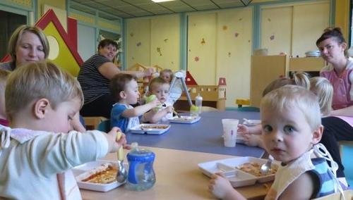 Pernois: les tout-petits mangent maintenant plus local