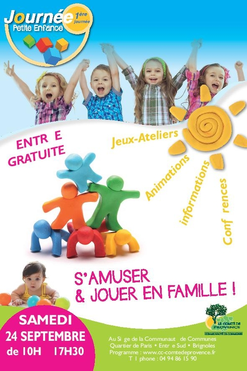 1ère Fête de la Petite Enfance en Comté de Provence
