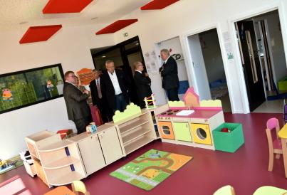 Apach : du beau monde à l'inauguration du multi-accueil Les p'tites Pousses