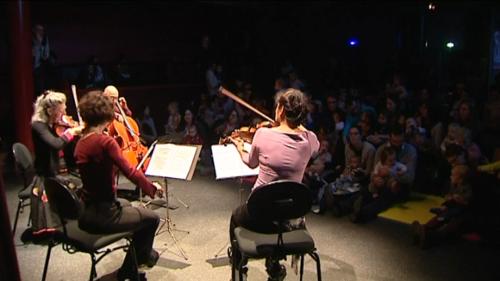 Clermont : Un concert pour bébés à la Coopérative de Mai