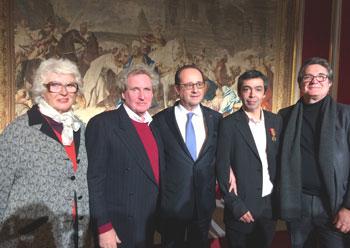 L'ACEPP reçoit la médaille de la Famille