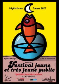 Festival jeune et très jeune public 2017 à Gennevilliers