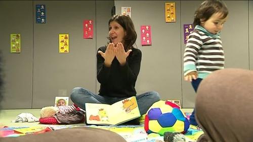 Pignan : des bébés apprennent la langue des signes pour communiquer