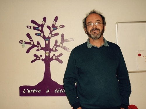 Frédéric Bernard : « J'ai un Diplôme d'Etat de puéricultrice »
