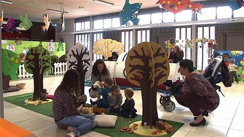 Mios, une exposition ludique sur le thème de la nature lors de la semaine de la petite enfance