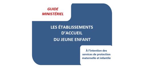 Le guide ministériel sur les EAJE est publié