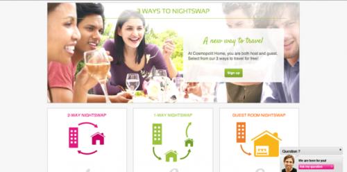 Nightswapping: Wereldwijd gratis overnachten bij locals