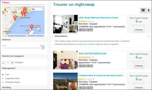Un site d'échange de nuits pour séjourner gratuitement lors d'un voyage!