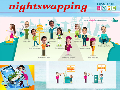 NIGHTSWAPPING: Travel the World, Save Money, Be Comfy