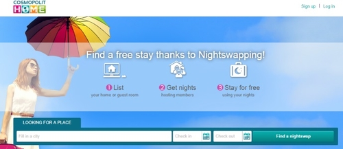 Cosmopolit Home secures Euro 2 million for free night-swapping service
