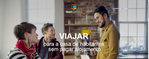 NightSwapping: uma alternativa de hospedagem