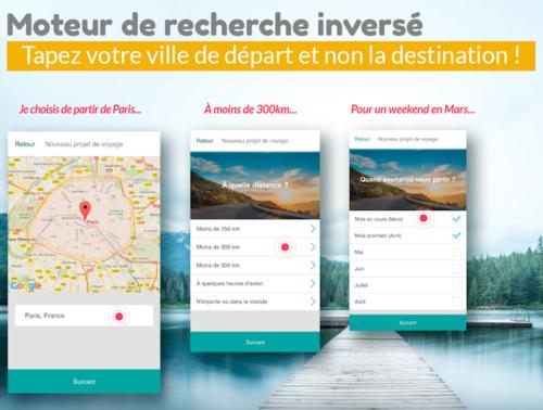 NightSwapping : un moteur de recherche inversé pour inspirer les voyageurs
