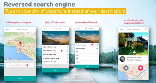 Reversed Travel Search Engines