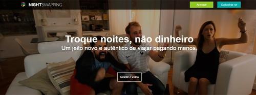 Site propõe troca de acomodações entre particulares