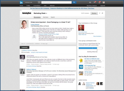 Share Your Expertise to Full Effect on LinkedIn