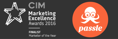 Finalist at the CIM Marketing Excellence Awards 2016