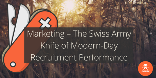Marketing – The Swiss Army Knife of Modern-Day Recruitment Performance
