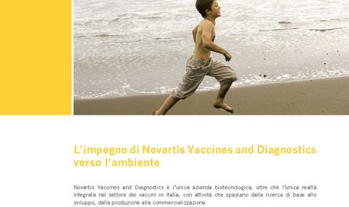 Francesco Gulli Novartis: Il rispetto dell'ambiente e la tutela della salute