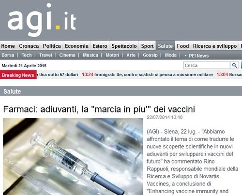 Francesco Gulli: nuovi adiuvanti per sviluppare i vaccini del futuro