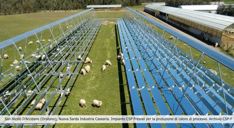 Fera energie rinnovabili: Primo solare termodinamico Fresnel per agroalimentare