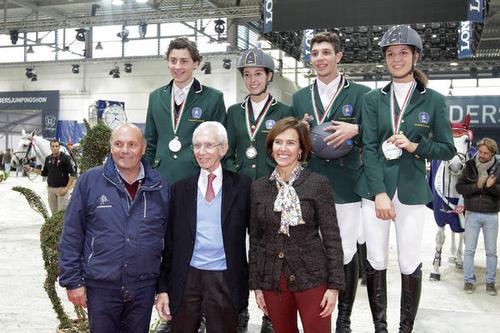 Barbara Blasevich: Fieracavalli, premiazioni della Coppa delle Regioni