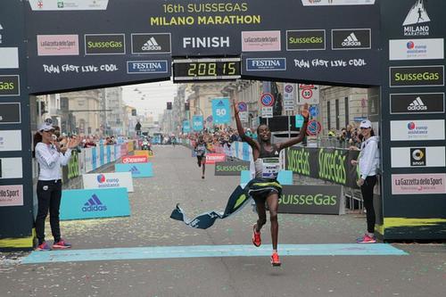 Avvocato Gianluca Borelli La SuisseGas Milano Marathon quasi 20000 runner