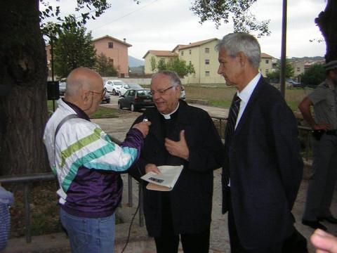 Monsignor Gianni Carrù la più antica rappresentazione dell'Annunciazione