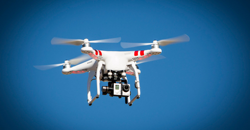 Some good news about drones for a change